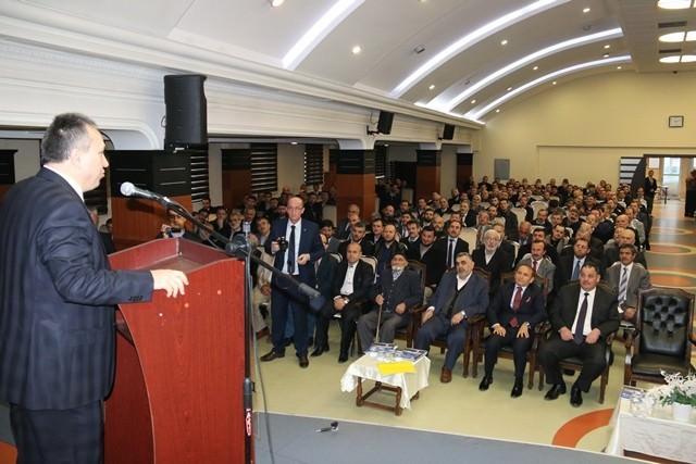 Vali Ali Fidan, Din Görevlileri İle Bir Araya Geldi