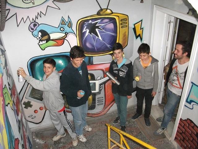 Graffiti Sanatına Gençlerin İlgisi