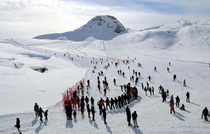 Hakkari'de Kayak İl Birinciliği Hazırlıkları