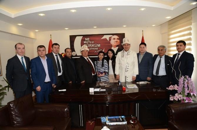 Adana - Koçkorata İş, Dostluk Ve Kültür Hattı İçin İlk Adım
