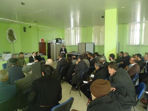 Köprüköy'de Seçim Güvenliği Toplantısı Yapıldı