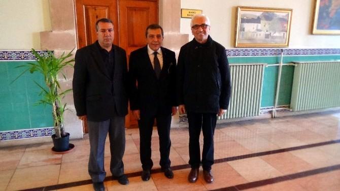 Cemiyet'ten Baro Başkanı Ahmet ATAM'a 'Tebrik' Ziyareti