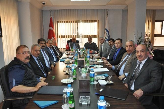 Başkan Tarhan ESOB Yönetim Toplantısına Katıldı