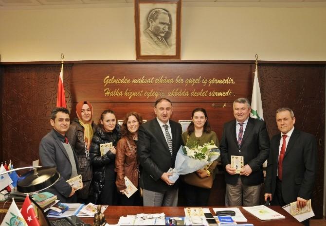 Başkan Kurtulan'a 14 Eylül'den Teşekkür Ziyareti
