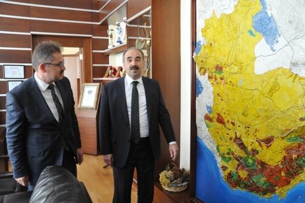 Orman Genel Müdürü Üzmez Mersin'de