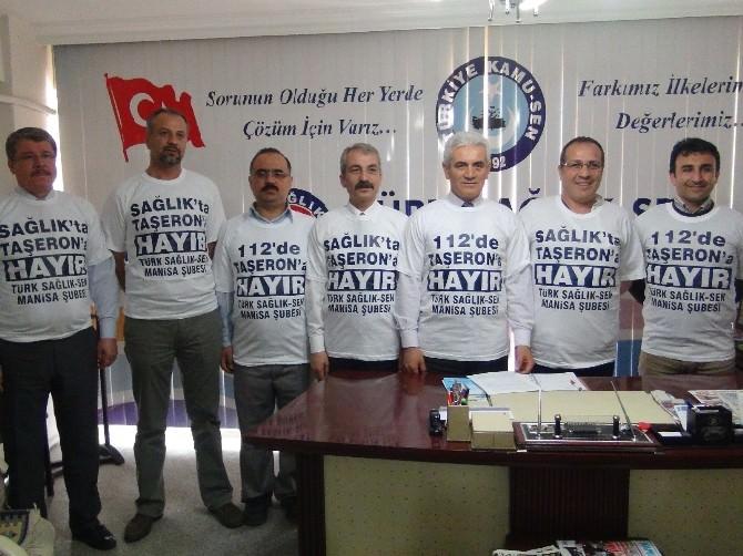 112'de Taşeronlaşmaya 'Hayır' Demek İçin Ankara'ya Gidecekler