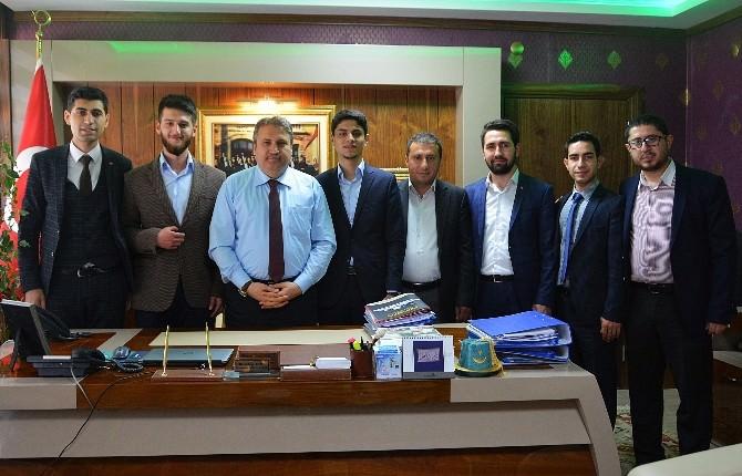 Başkan Çerçi'ye İl Futbol Takımları Derneği'nden Ziyaret