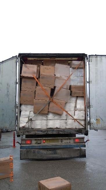 Uşak'ta 142 Bin Paket Kaçak Sigara Yakalandı