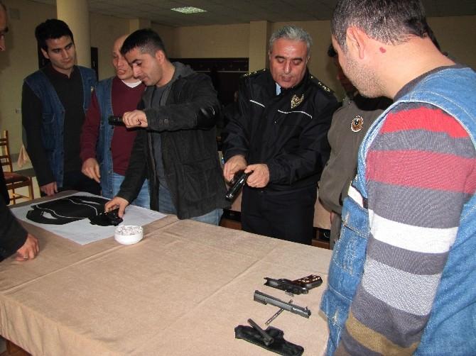 Ormancılara Silah Eğitimi