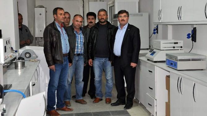 Yozgat Pancar Ekicileri Kooperatifi Toprak Tahlil Laboratuarı Kurdu