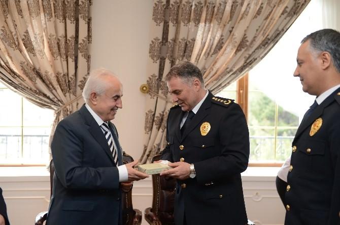 Polis Teşkilatından Edirne Valisi Şahin'e Ziyaret
