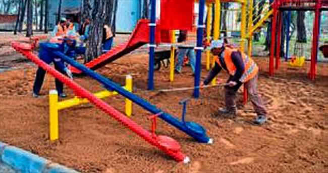 Manavgat'ta park atağı başlatıldı