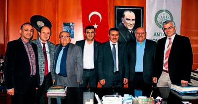 Konyalılar Derneği Tutal'ı ağırladı