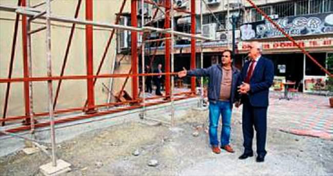 Başkan Seyfi Dingil parkta inceleme yaptı