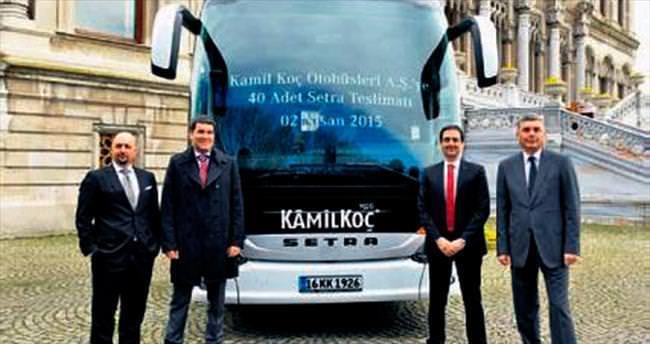 Kamil Koç'tan otobüse 35 milyon TL yatırım