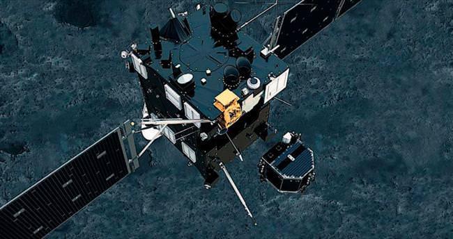 Rosetta'nın 2005'te çektiği fotoğraflar