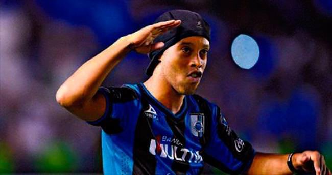 Ronaldinho'yu istemiyorum