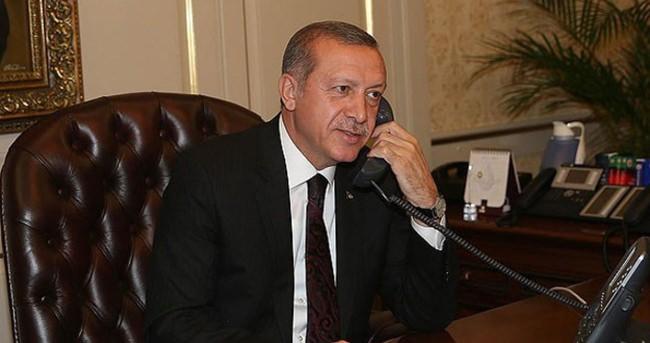 Erdoğan'dan Nijerya Devlet Başkanı'na tebrik telefonu