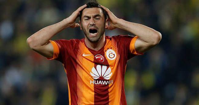 Galatasaray'da Burak Yılmaz şoku