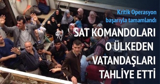 Yemen'deki Türk vatandaşlarının tahliyesi başladı