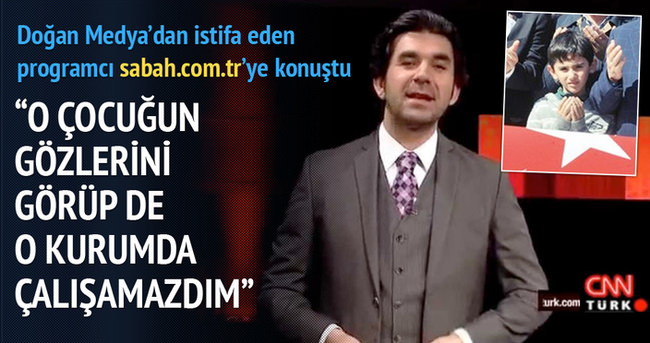 CNN Türk'ten istifa eden Serdar Tuncer Sabah'a konuştu