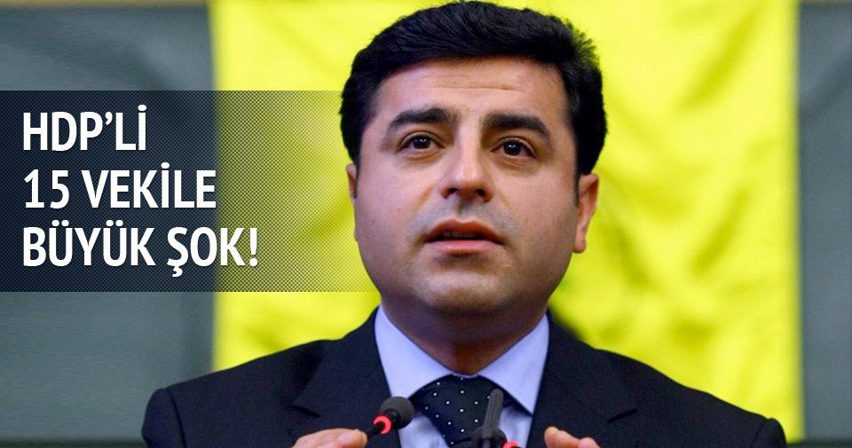 İşte HDP'de aday gösterilmeyecek vekiller