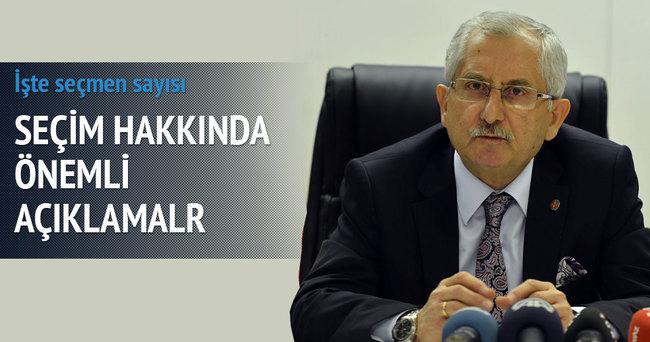 İşte Türkiye'deki seçmen sayısı