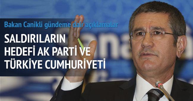 Saldırıların hedefi AK Parti ve Türkiye Cumhuriyeti