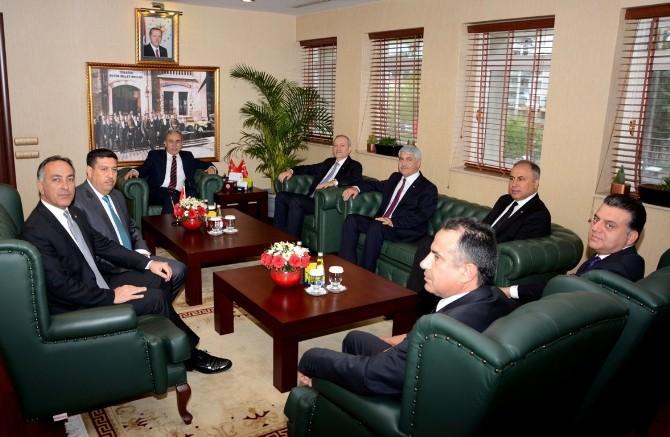 ATB Yeni Yönetimi Vali Büyük'ü Ziyaret Etti