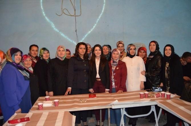 AK Parti Kadın Kolları Seçim Çalışmalarına Başladı
