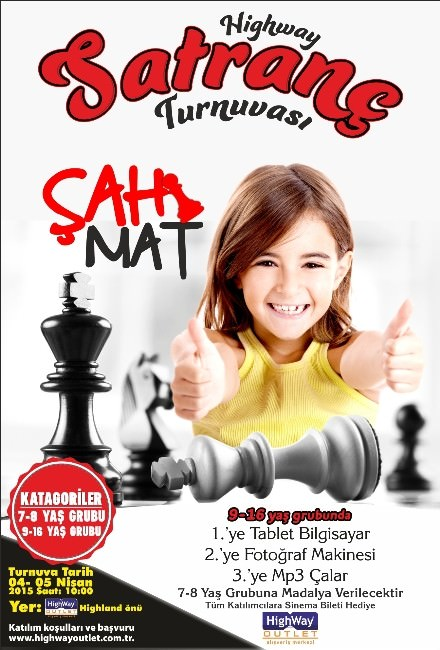 Highway Satranç Turnuvası Başlıyor