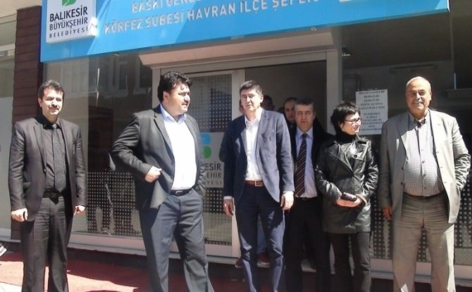 Ersoy Havran Baski'yi Ziyaret Etti