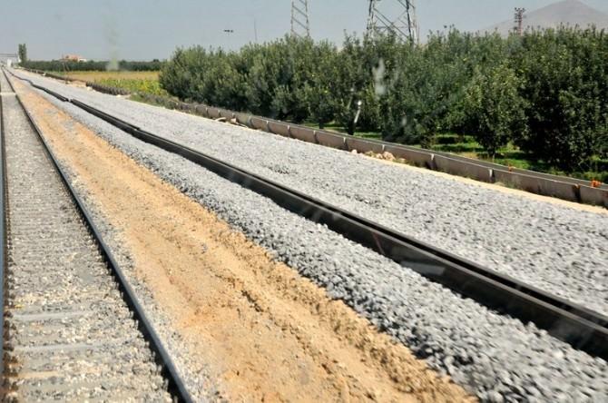 Karaman'da Hızlı Tren Yol Çalışmaları