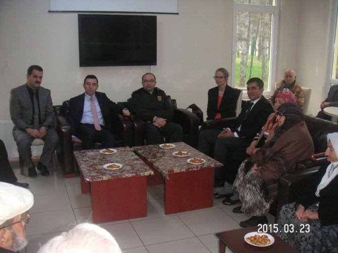 Kaymakam Keçeli'den Yaşlılara Ziyaret
