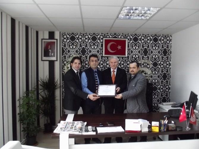 Kızılay Yöneticilerinden BİK Malatya Şubesi'ne Ziyaret