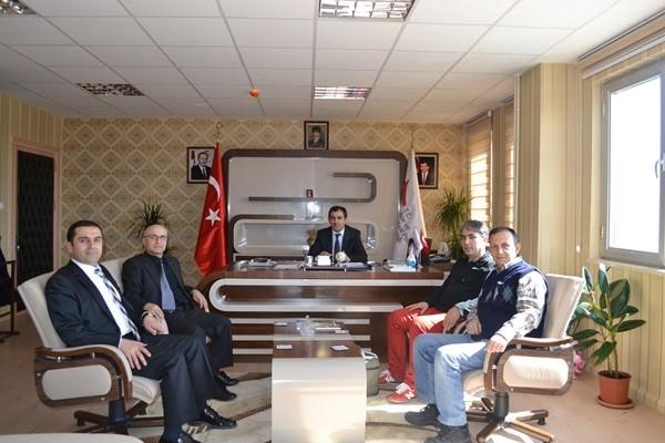 Kocaeli ASP Spor Kulübü'nden Abdulhakimoğulları'na Ziyaret