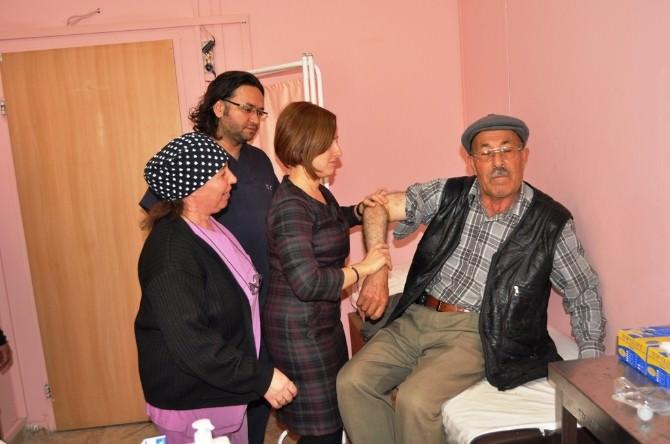 Korkuteli Devlet Hastanesi'nde Proloterapi Tedavi Yöntemi Başladı