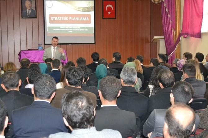 Kulu'da Milli Eğitimden Bilgilendirme Toplantısı