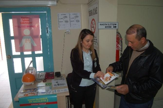 Tsm Tarafından Lapseki Devlet Hastanesinde Stant Açıldı
