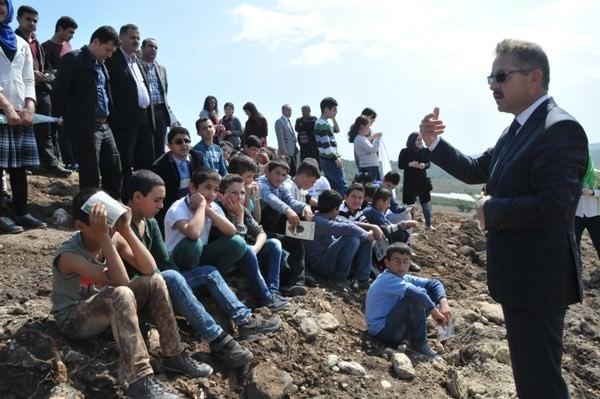 Suriyeli Çocuklar 'Fidan Dikim Şenliğine' Katıldı
