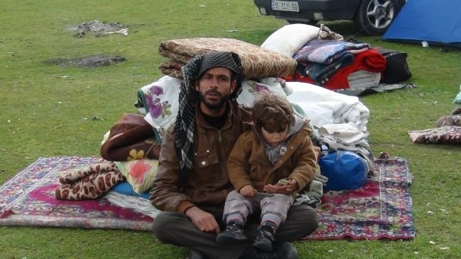 Suriyeli Mülteciler Kamplara Gönderiliyor