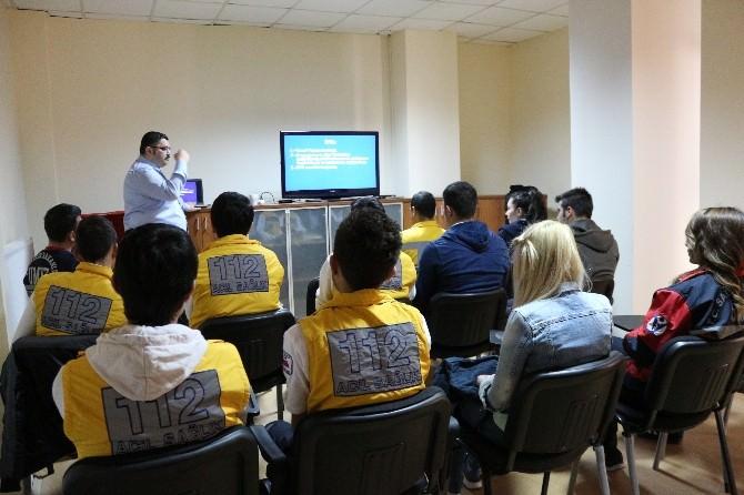 Sağlık Meslek Lisesi Öğrencilerine UMKE Eğitimi