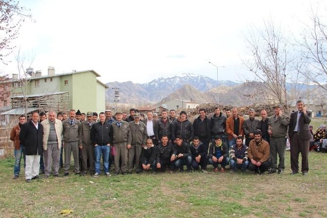 Oltu Orman İşletme Müdürlüğünde 350 Kişi İstihdam Edildi
