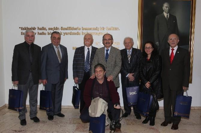 Safranbolu Kültür Ve Turizm Vakfı Heyeti Başkan Büyükerşen'i Ziyaret Etti