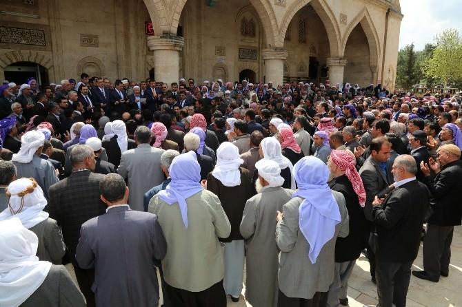 Şanlıurfa'da 'Üç Dilde' Dua Edildi