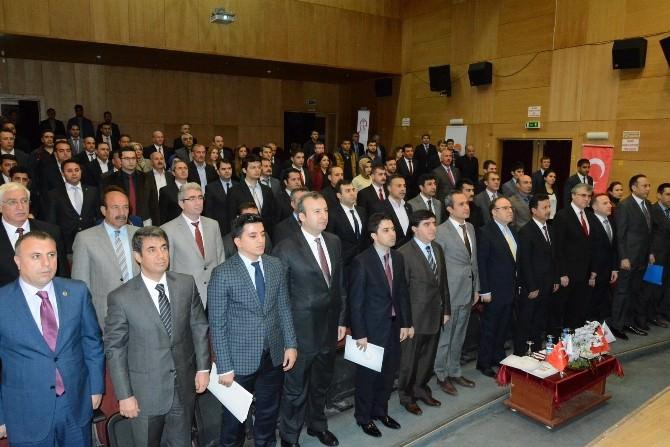 Siirt'te GAP Eylem Planı Değerlendirme Toplantısı Yapıldı