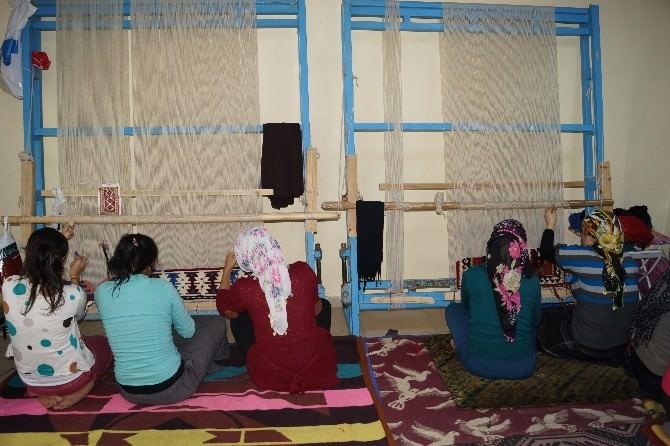 Cizre'de 'Yöresel Kilim Dokuma Kursu' Açıldı