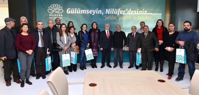 Tunus Heyetinden Başkan Bozbey'e Ziyaret