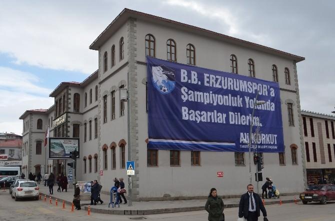 Ali Korkut'tan Büyükşehir Belediye Erzurumspor'a Destek