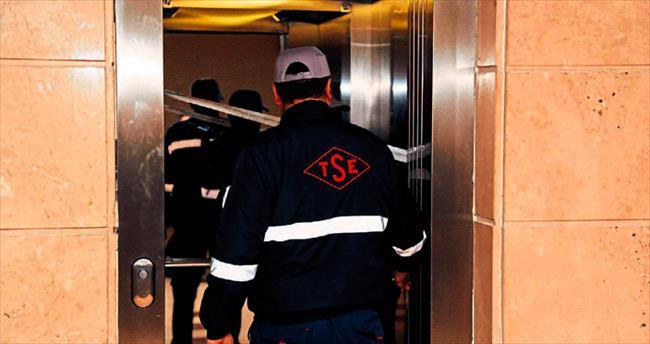 Asansörler yine TSE'ye emanet